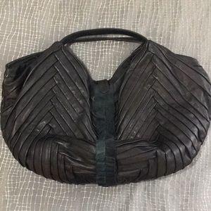 Elie Tahari large hobo bag
